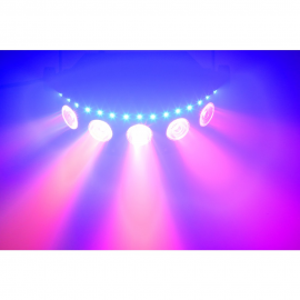 Tronios beamz dj x5 led array strobe