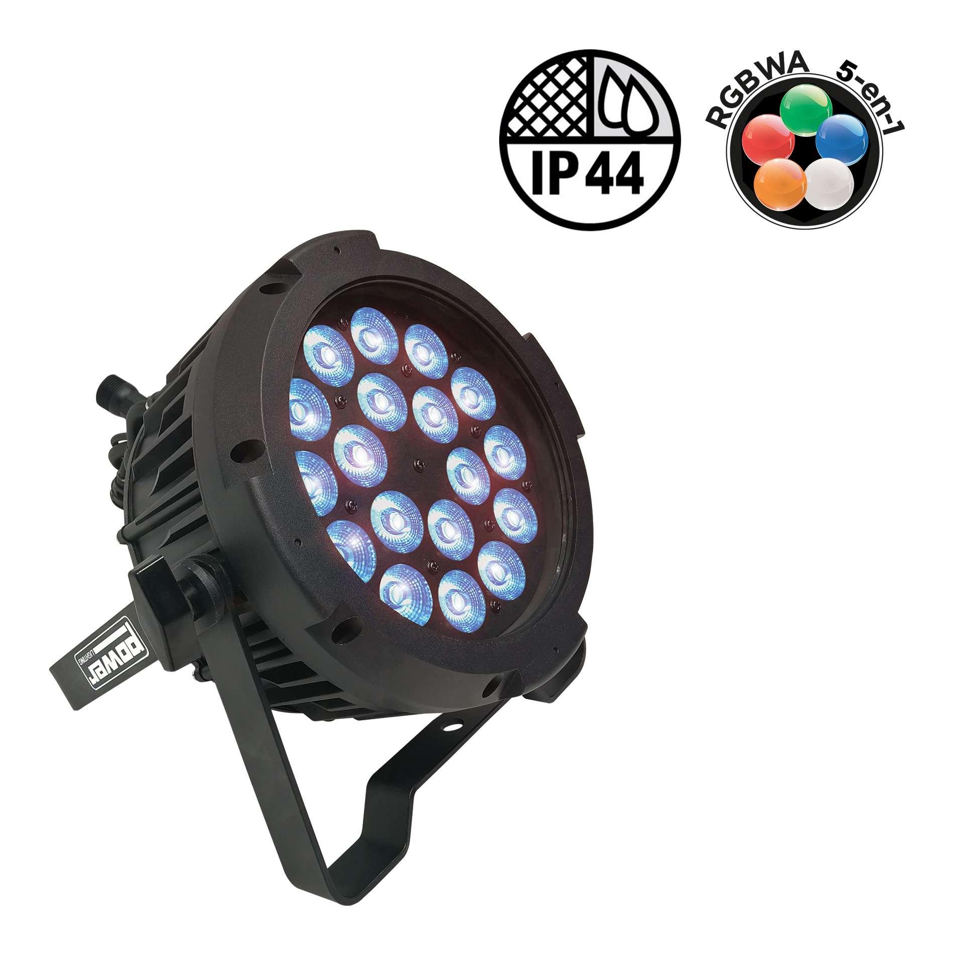 Power PAR SLIM 18x10W IP44 PENTA40