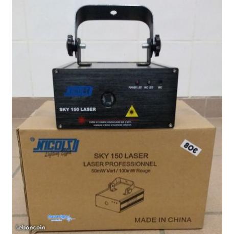Laser sky 150 nicols neuf