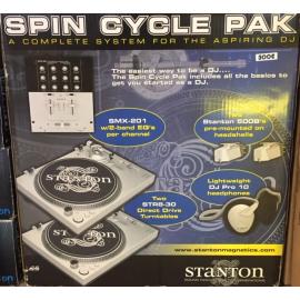 Stanton Spin Cycle Pak: ensemble complet de DJ