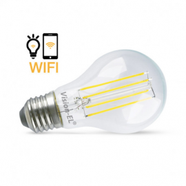 AMPOULE LED E27 CONNECTÉE WIFI 7W 4000°K + DIMMABLE